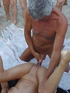 Couple erotic threesome vacation