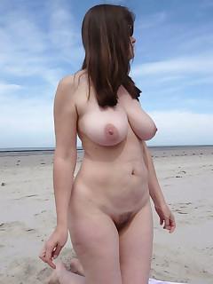Chubby Beach Voyeur Pics